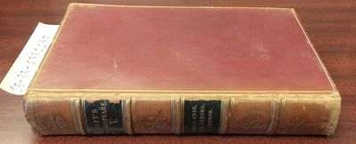 London: Henry G. Bohn, 1857. Hardcover. Octavo, 385 pages; VG-; fully bound in red leather, paneled ...