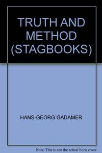 image of Truth and Method (Stagbooks S.)