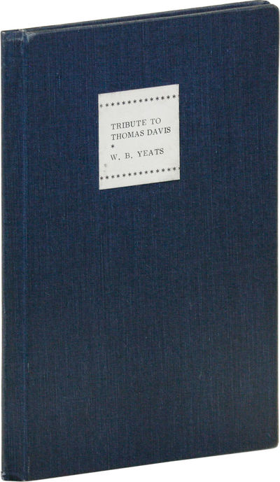 Oxford: Cork University Press, 1947. First Edition. Slim octavo; navy blue cloth, with white title l...