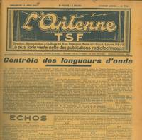 L\'antenne. Journal de vulgarisation TSF.