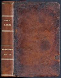 image of LYRICAL BALLADS, WITH OTHER POEMS: IN TWO VOLUMES
