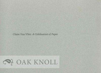 Lewiston, ME: Bates College Museum of Art, n.d.. stiff paper wrappers. Van Vliet, Claire. oblong 16m...