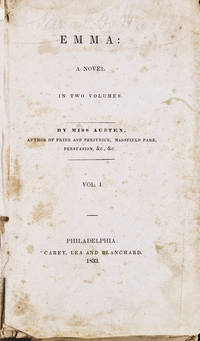 image of Emma: A Novel. In Two Volumes. By Miss Austen ..