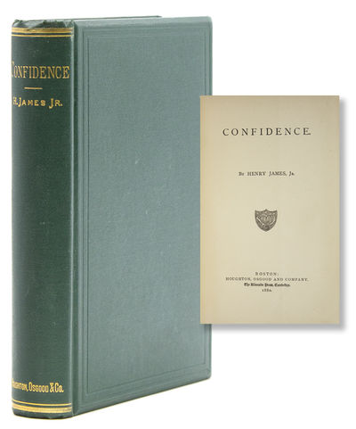 Boston: Houghton, Osgood and Company, 1880. First American edition, first issue. 347 pp. 1 vols. 8vo...