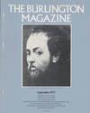 image of The Burlington Magazine: Peter Paul Rubens (No. 894, Volume CXIX, September 1977)