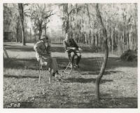 image of The Horse Soldiers (Original photograph of John Ford and John Wayne from the set of the 1959 film)