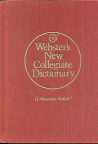 image of Webster's New Collegiate Dictionary
