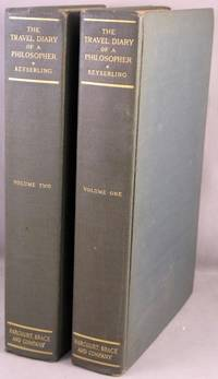 The Travel Diary of a Philosopher. 2 volumes.