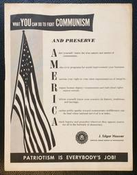 image of What YOU can do to fight COMMUNISM and preserve America [handbill]