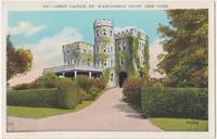 Libby Castle Ft. Washington Port, New York, 1910s-1920s unused Postcard