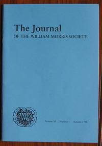 image of The Journal of the William Morris Society Volume XI Number 1 Autumn 1994  Education Special Issue