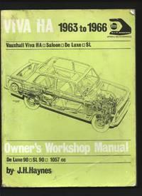 Vauxhall Viva Ha 1963 to 1966 : Saloon - De Luxe - SL Owner's Workshop Manual