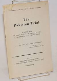 image of The Pakistan Trial: A Call for an Open and Fair Trial in the Rawalpindi Conspiracy Case
