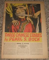 image of Three Chinese Stories  Supplement of The Philadelphia Record for Feb. 27th 1938