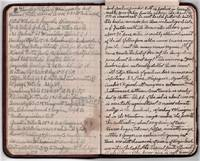 HANDWRITTEN TRAVEL NOTEBOOK OF A MICHIGAN MAN WHO SAILED BY STEAMER TO THE WEST INDIES AND PUERTO RICO, CIRCA 1910