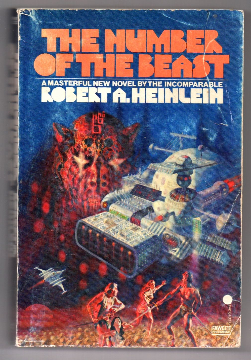 The Number Of The Beast By Robert A Heinlein Paperback