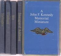 Inaugural Address, Wisdom, Wit, Eulogies. Set of 4 Minature Books in Slip case.