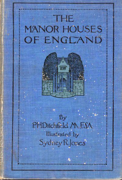 London: B.T. Batsford, 1910. First edition. Hardcover. Orig. illustrated blue cloth. Teg. Very good....