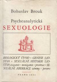 Psychoanalytická sexuologie [Psychoanalytic sexology]