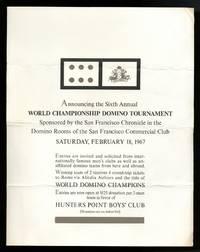 World Championship Domino Tournament (poster)