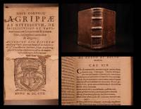 Henr. Cornelii Agrippae ab Nettesheym De incertitudine et vanitate omnium scientiarum & artium...