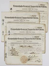 [Four Certificates of Nationality from the Chinese Consulate in Havana for Indentured Servants]