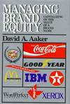 image of Managing Brand Equity