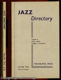 The Directory of Recorded Jazz and Swing Music, Volume Two