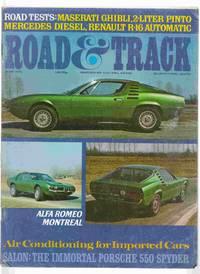 Road & Track June 1971 Volume 22, Number 10