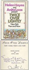 View Image 1 of 3 for Twice Over Lightly: New York Then and Now Inventory #54434