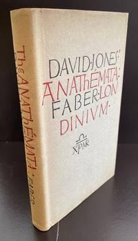 The Anathemata : Evan Gill's Personal Copy