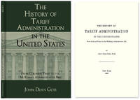The History of Tariff Administration in the United States: From..