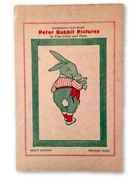 Peter Rabbit Pictures; To Cut, Color and Paste by  Beatrix Potter - 1927 - from Rare Illustrated Books (SKU: 1490)
