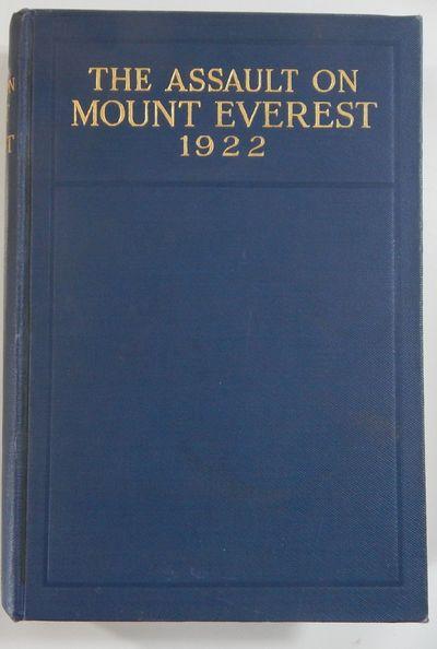 New York & London: Longmans, Green & Co; Edward SArnold & Son, 1923. First edition. Hardcover. Fine....
