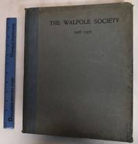 15th Annual Volume of the Walpole Society, 1926-1927