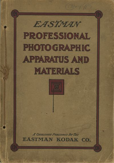 : Eastman Kodak Company, 1915. 8vo., 172 pp., fully illustrated. Decorative string-tied paper wrappe...