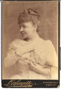 image of Fine Unsigned Cabinet photo by Lafayette (Dame Emma, 1852-1930, Canadian Operatic Soprano)
