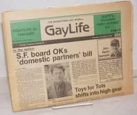 image of Chicago GayLife: the international gay newsleader; vol. 8, #25, Thursday, December 2, 1982: SF Board OKs 'Domestic Partners' bill