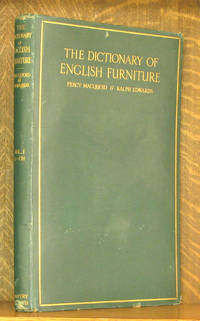 image of THE DICTIONARY OF ENGLISH FURNITURE - VOL. 1 A-CH (INCOMPLETE SET)