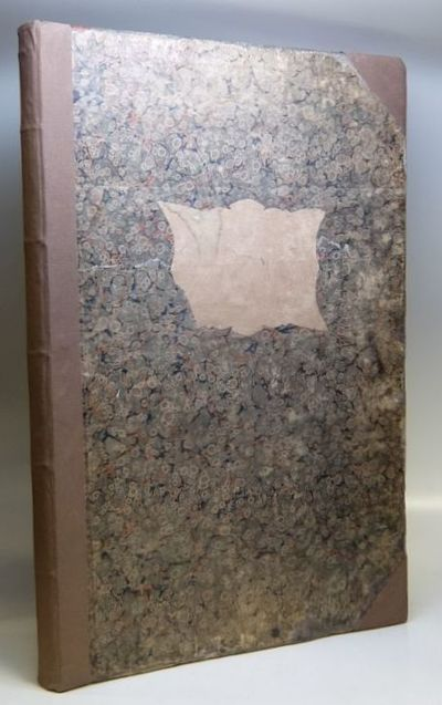 Carlsruhe: Johan Velten, 1826. hardcover. very good. Folio. Worn but sturdy marbled boards with expe...