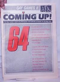 image of Coming Up! the gay/lesbian community newspaper_calendar of events for the Bay Area [aka San Francisco Bay Times] vol. 7, #12, September, 1986; 64: LaRouche Initiative