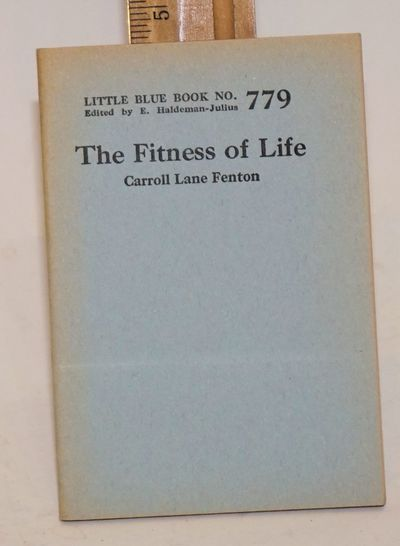 Girard, KS: Haledman-Julius Company, 1925. 64p., 3.5 x 5 inch wraps, very good. Little blue book no....