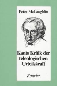 Kants Kritik der teleologischen Urteilskraft.
