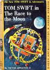 image of Tom Swift In The Race To The Moon : The New Tom Swift Jr. Adventures #12:  Orange Spine Version - The New Tom Swift Jr. Adventures Series