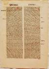 View Image 1 of 3 for Printed Leaf From Cassiodorus's Psalterium in Expositio Inventory #EU512-72