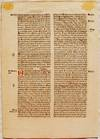 View Image 2 of 3 for Printed Leaf From Cassiodorus's Psalterium in Expositio Inventory #EU512-72