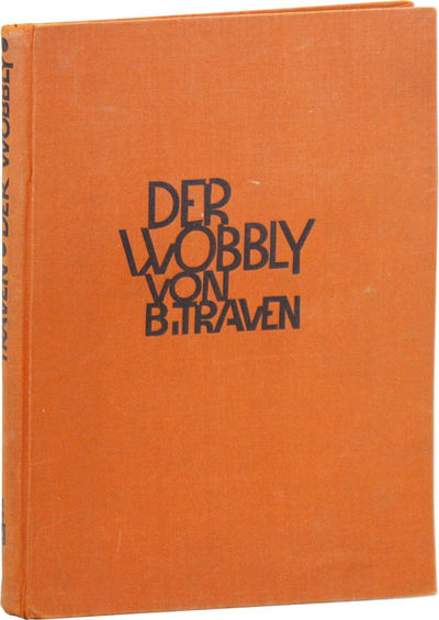 Berlin: Buchmeister-Verlag, 1926. First Edition. Hardcover. Labor novel first serialized in a Berlin...