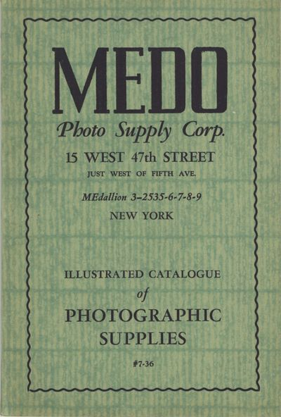 New York: Medo Photo Supply Corp, 1936. 8vo., 128 pp., illustrated from b&w photographs. Decorative ...