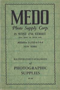 ILLUSTRATED CATALOGUE OF PHOTOGRAPHIC SUPPLIES #7-36.; [cover title]