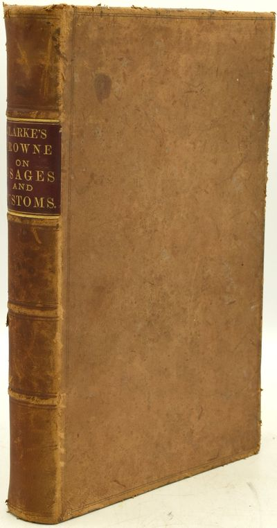 Jersey City, N.J.: Frederick D. Linn & Co, 1881. First American Edition. Full Leather. Very Good bin...